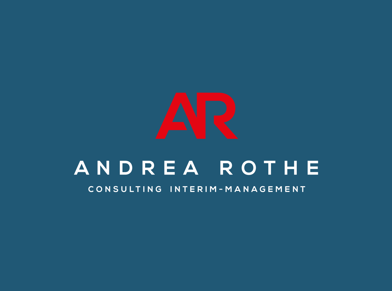 Logo Design für Andrea Rothe Consulting Interim-Management