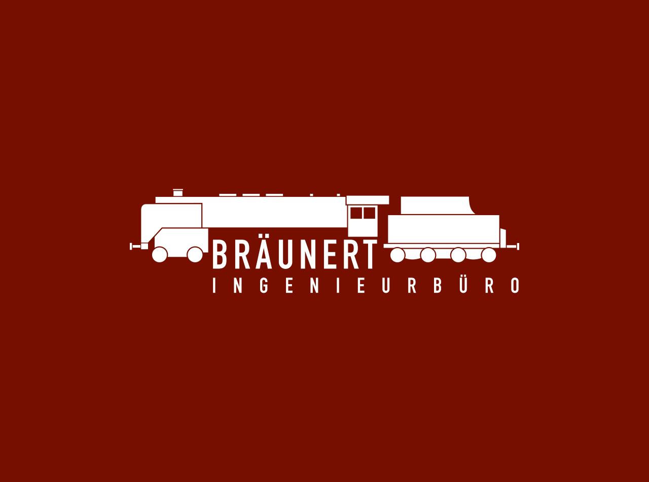 Logo-Design für das Ingenieurbüro Bräunert