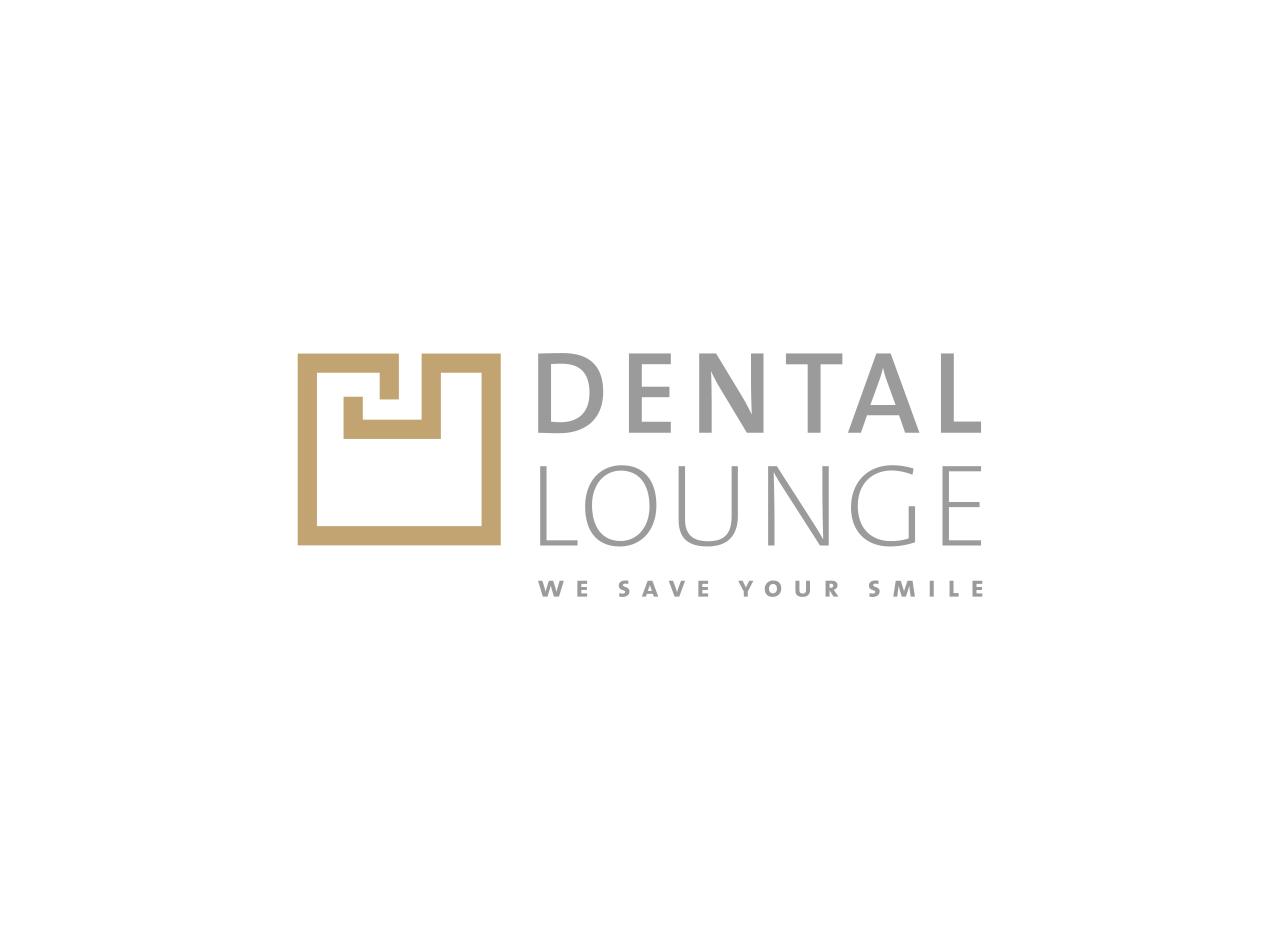 Logo-Design für die Zahnarztpraxis DENTAL LOUNGE in der Schweiz