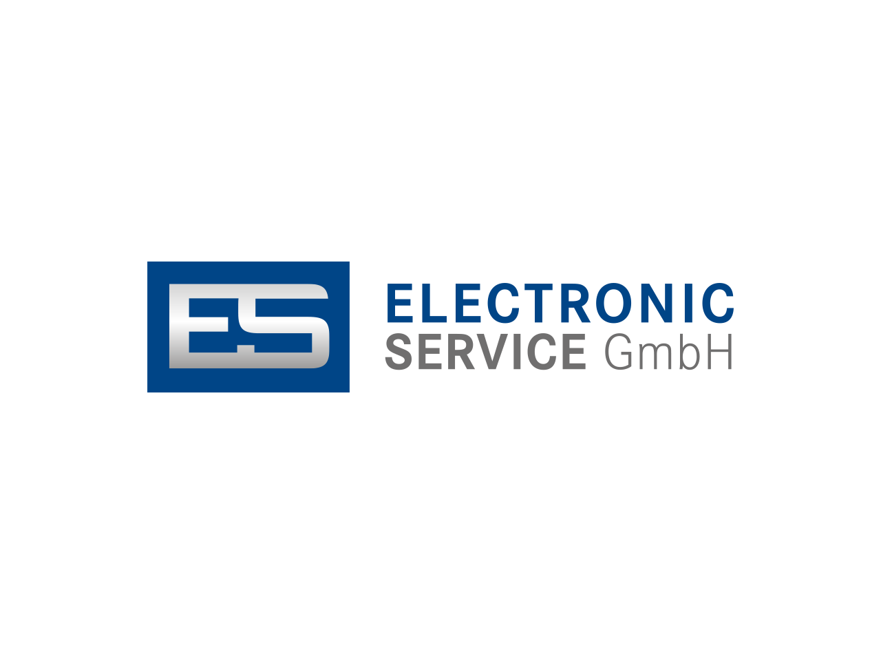 Logo Design für die E.S. Electronic Service GmbH