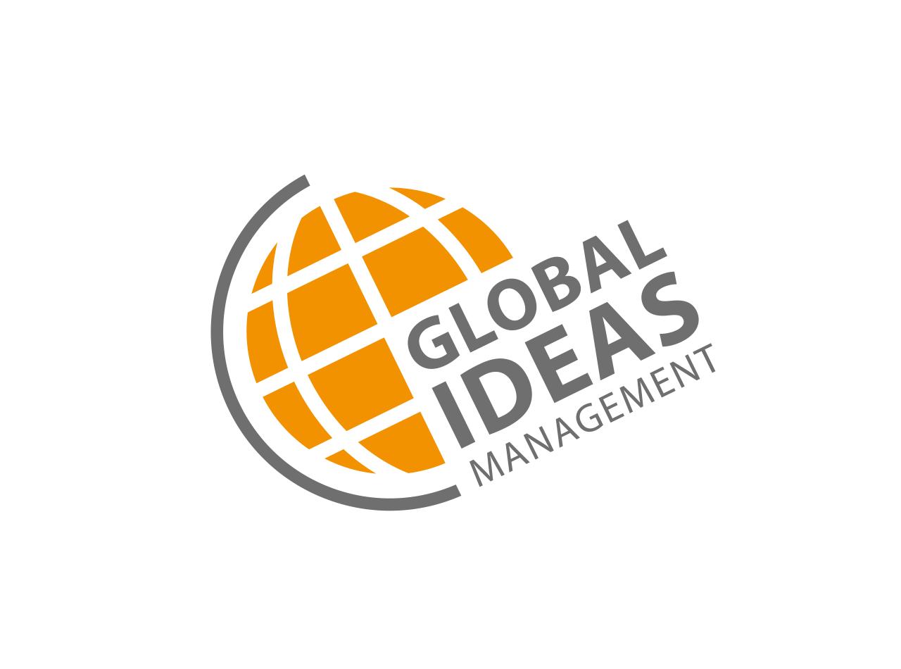 Logo-Design für Global Ideas Management, Zentrum Ideen Management