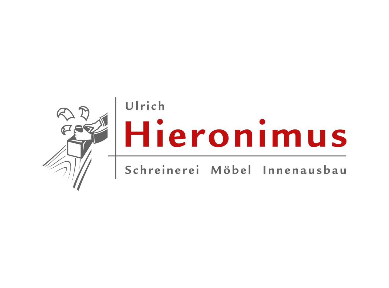 Logo Design für die Schreinerei Hieronimus