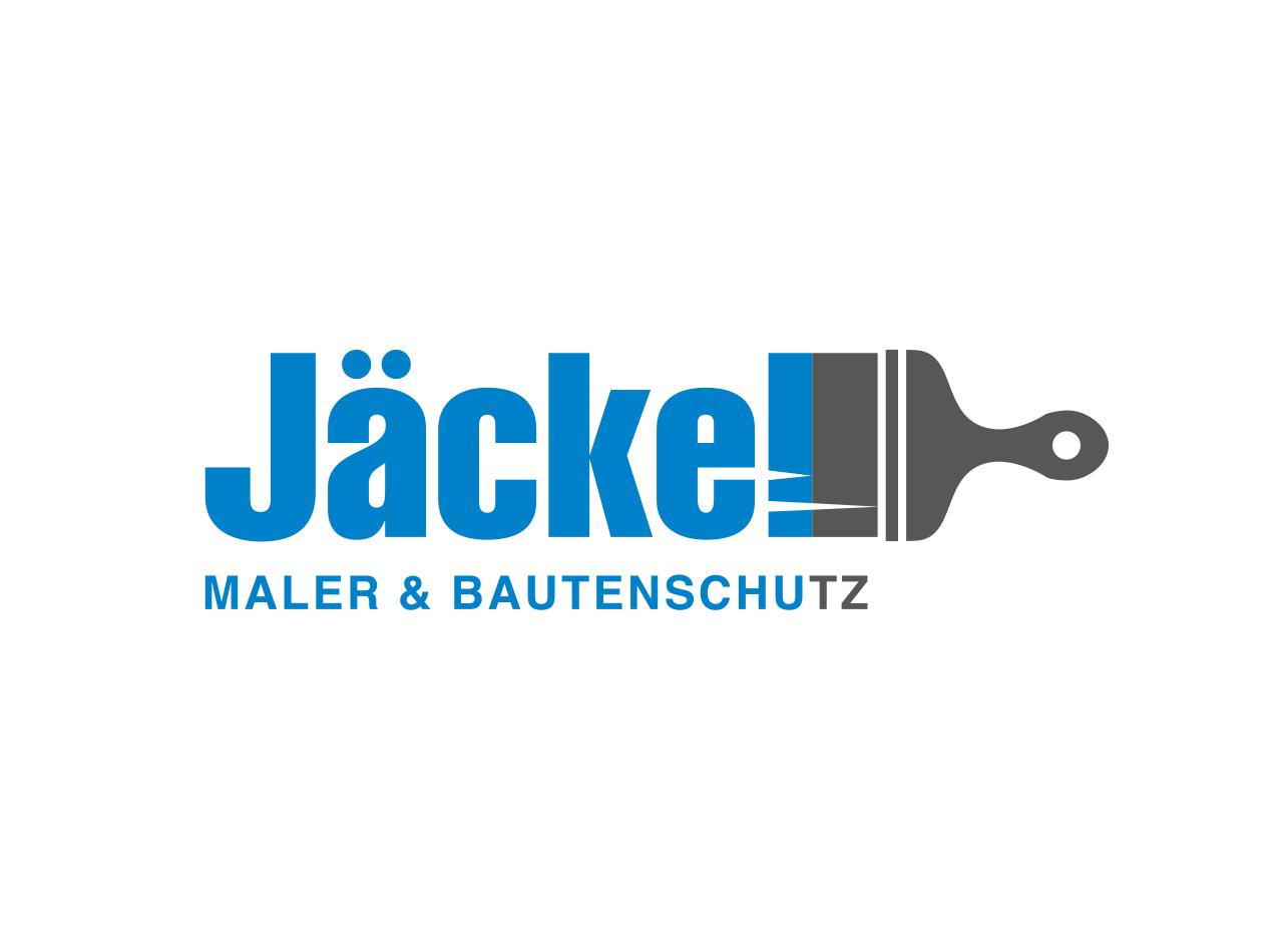 Logo Design für den Malerbetrieb Jäckel Maler & Bautenschutz im Taunus