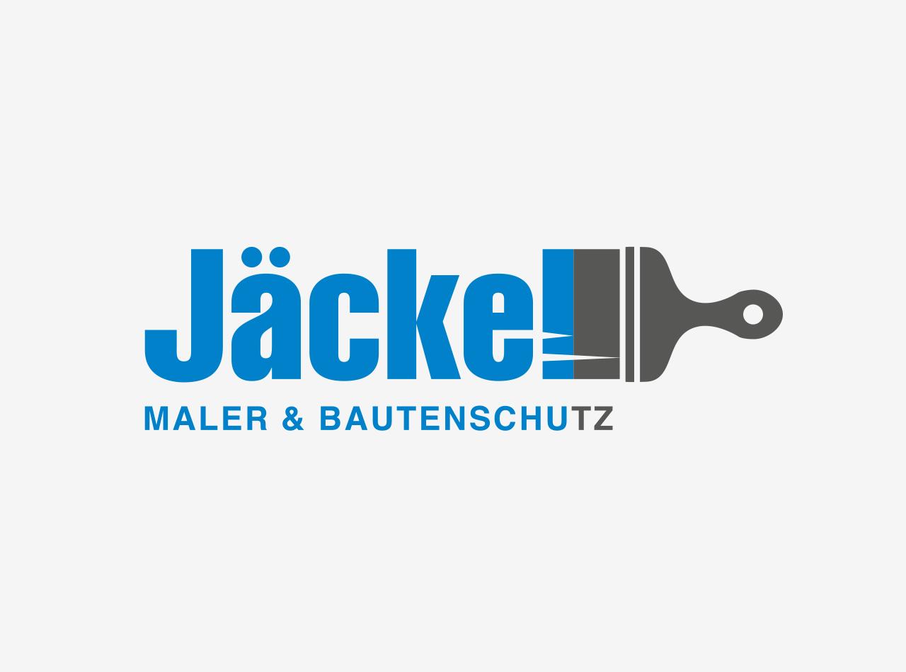 Logo Design für den Malerbetrieb Jäckel Maler & Bautenschutz im Taunus 2