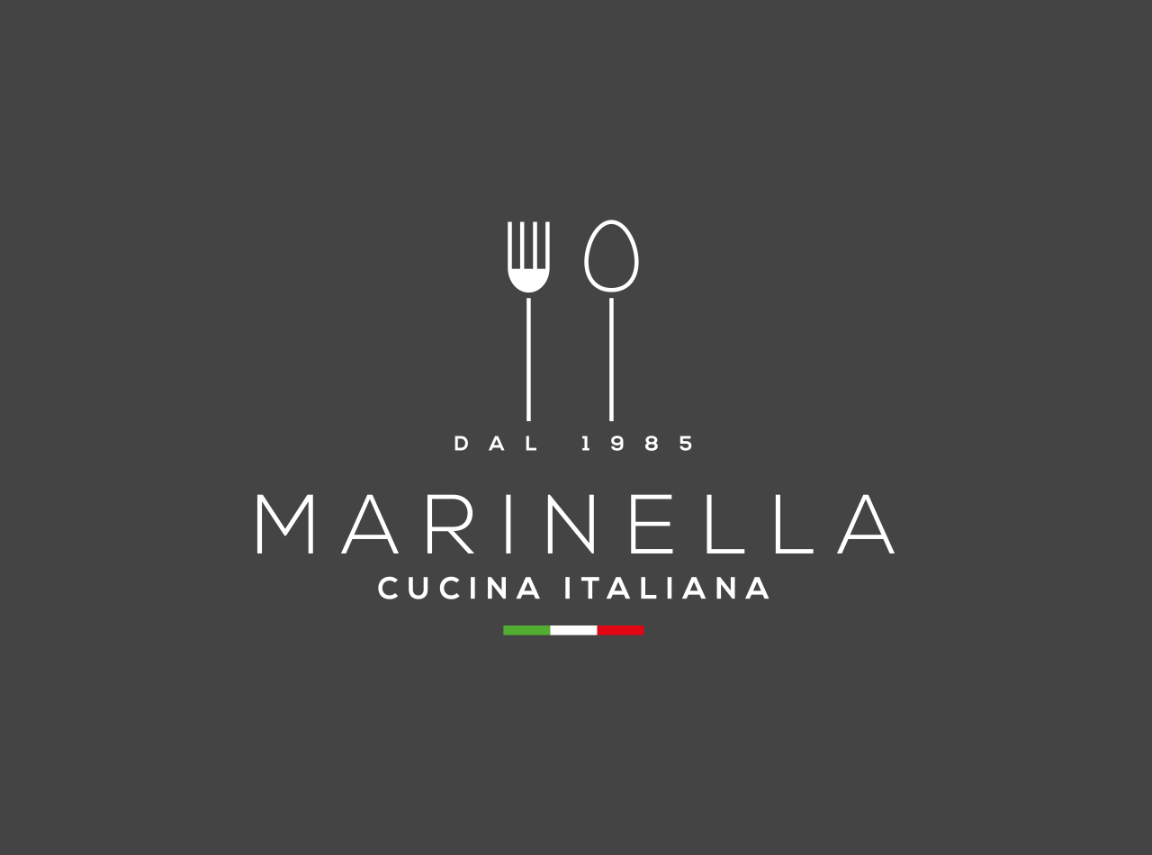 Logo Design für das italienische Restaurant Marinella in Frankfurt