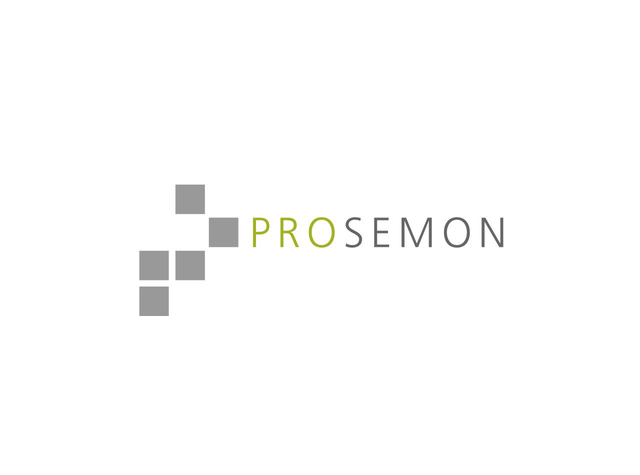 Logo Design für die PROSEMON GmbH in Frankfurt