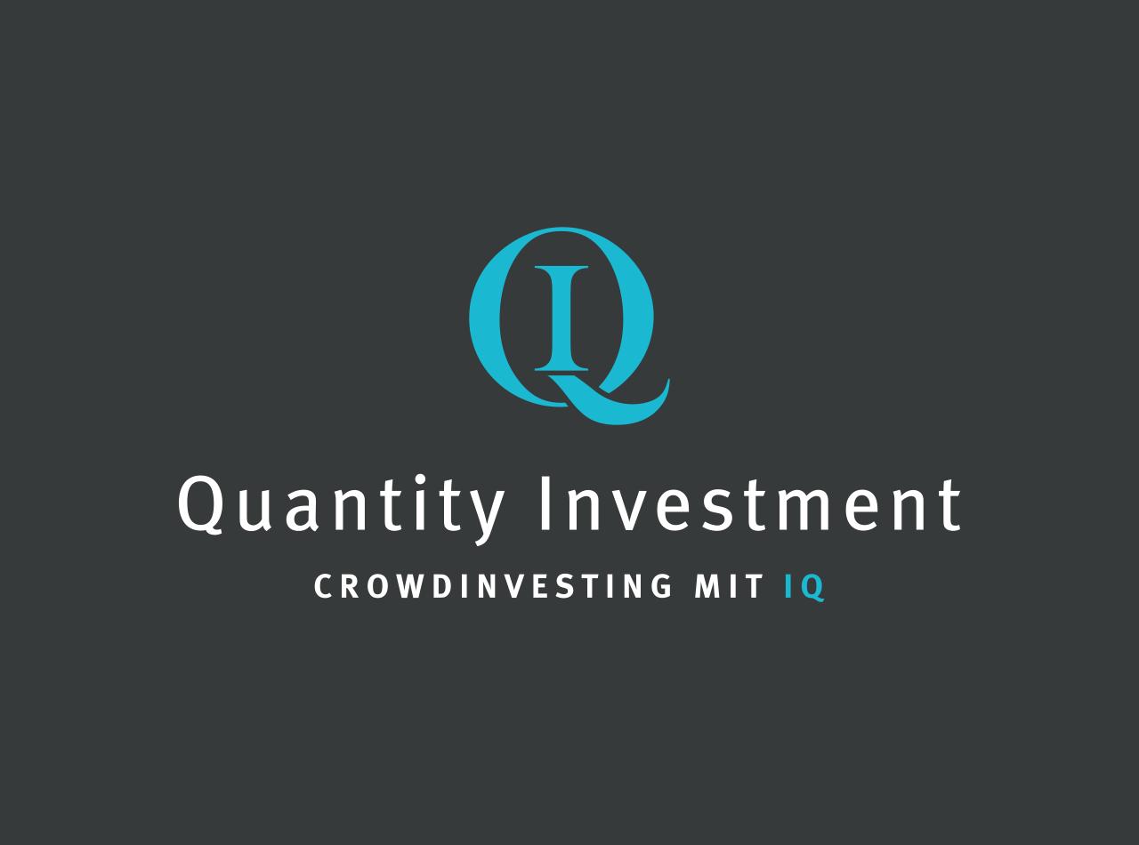 Logo-Design für die Quantity Investment Crowinvesting mit IQ GmbH