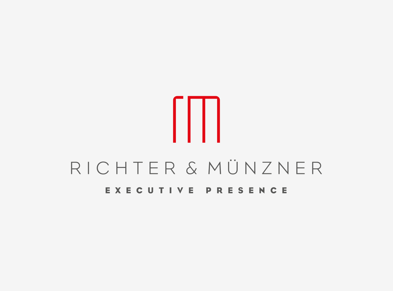 Logo Design für die Mediencoaches Richter & Münzner, Logo auf hellem Hintergrund