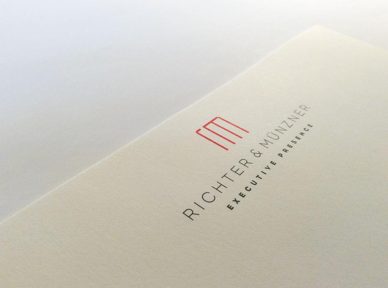 Briefpapier für Richter & Münzner 1