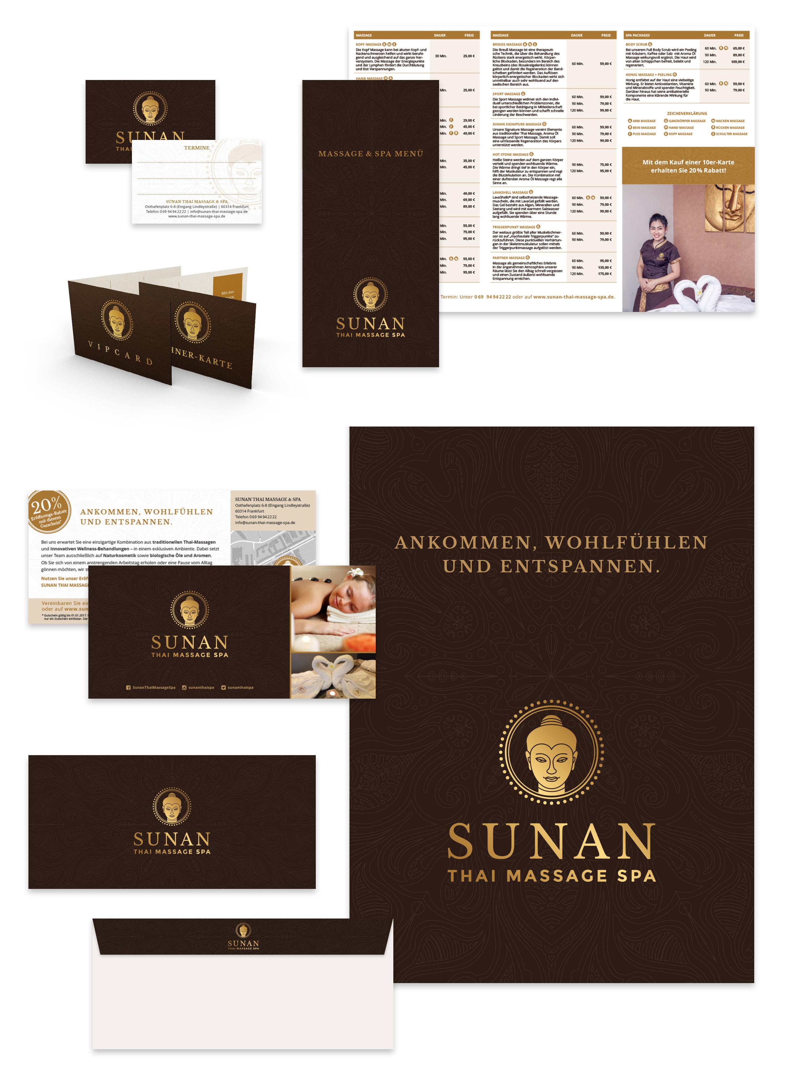 Drucksachen SUNAN Thai Massage 2