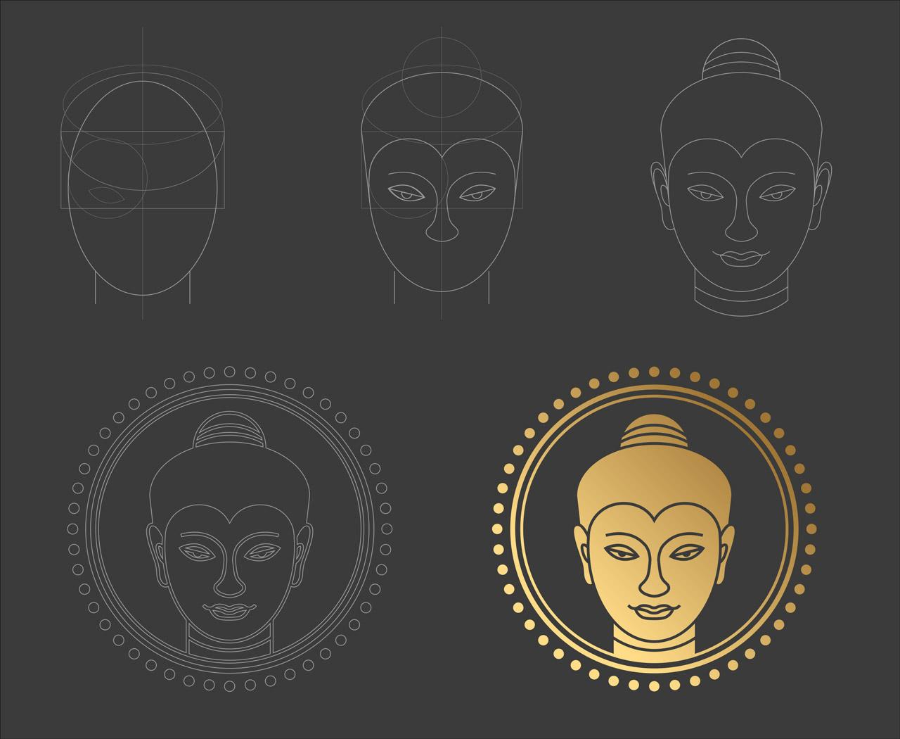 Logo Entwicklung am Beispiel SUNAN Thai Massage 2
