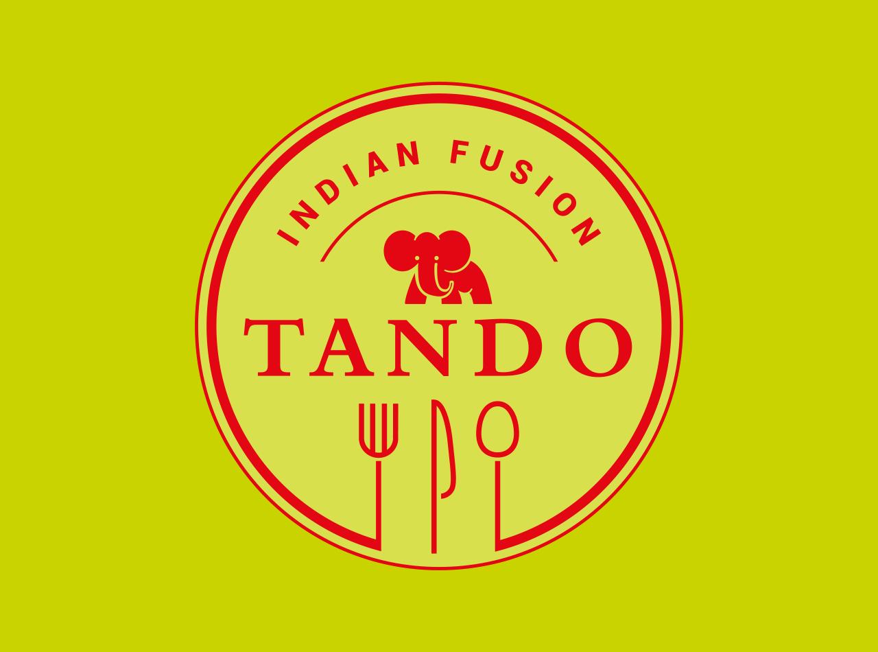 Logodesign für TANDO Indian Fusion