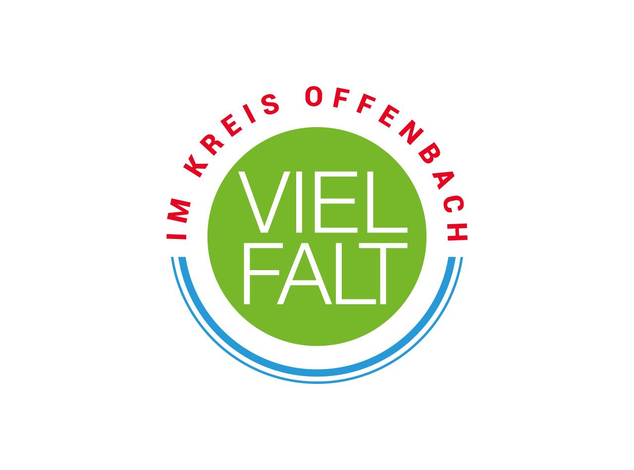 Logo Design für Vielfalt im Kreis Offenbach