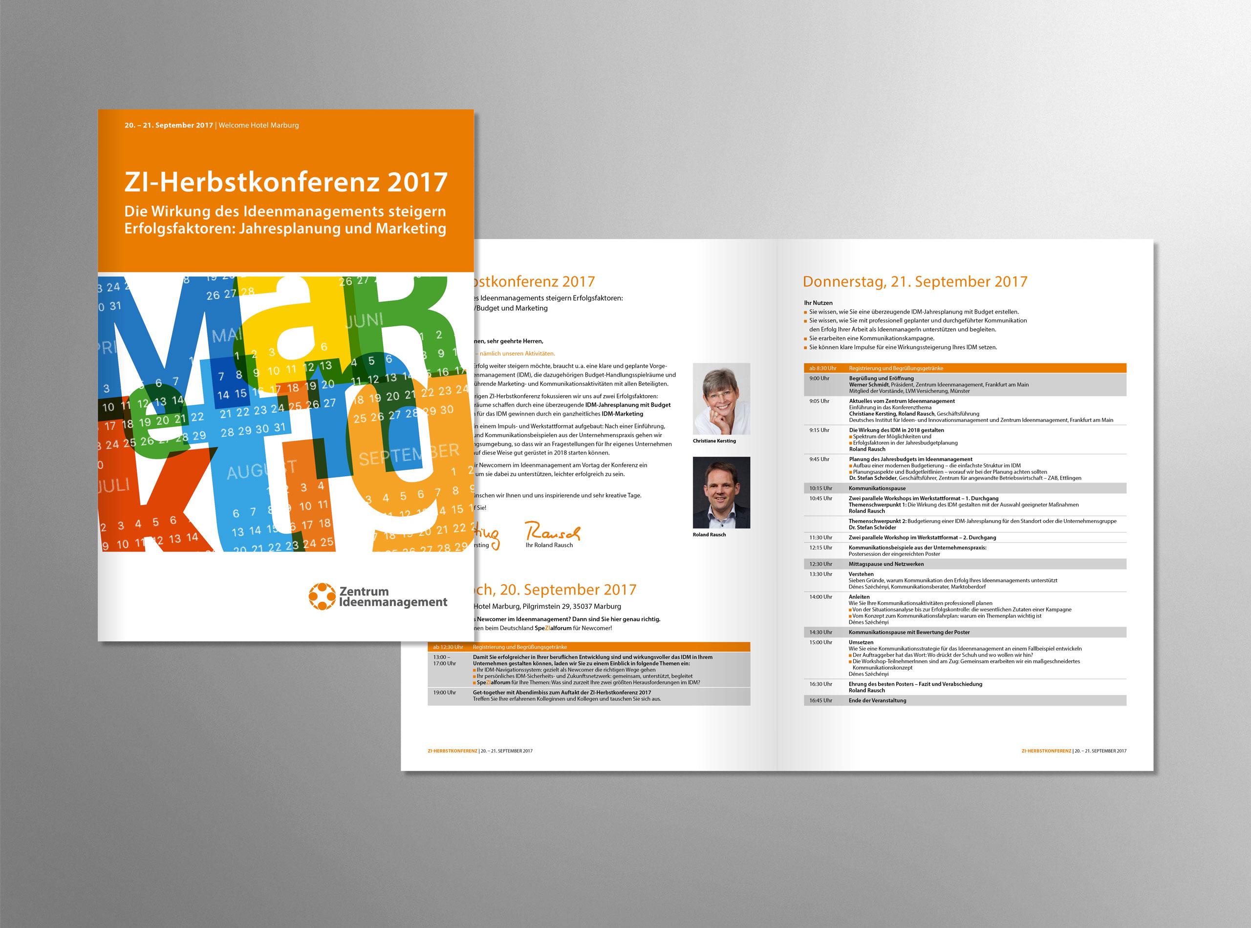 Zentrum Ideenmanagement Herbstkonferenzbroschüre 2017 2