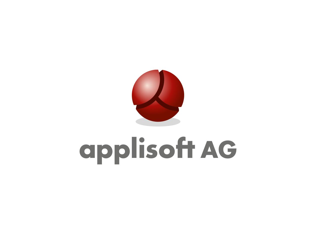 Logo-Design für die applisoft AG