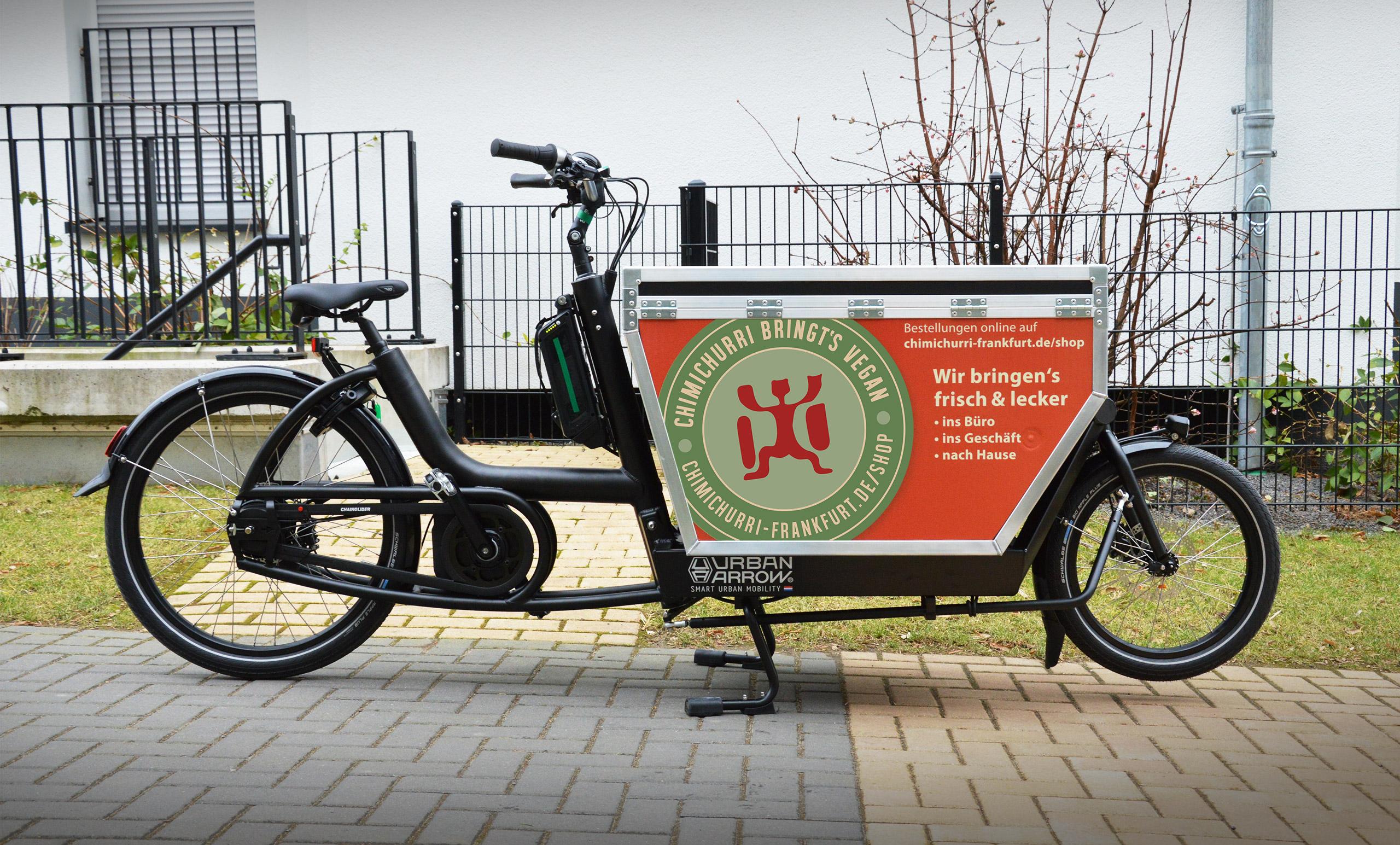 CHIMICHURRI bringt's Vegan Transportrad
