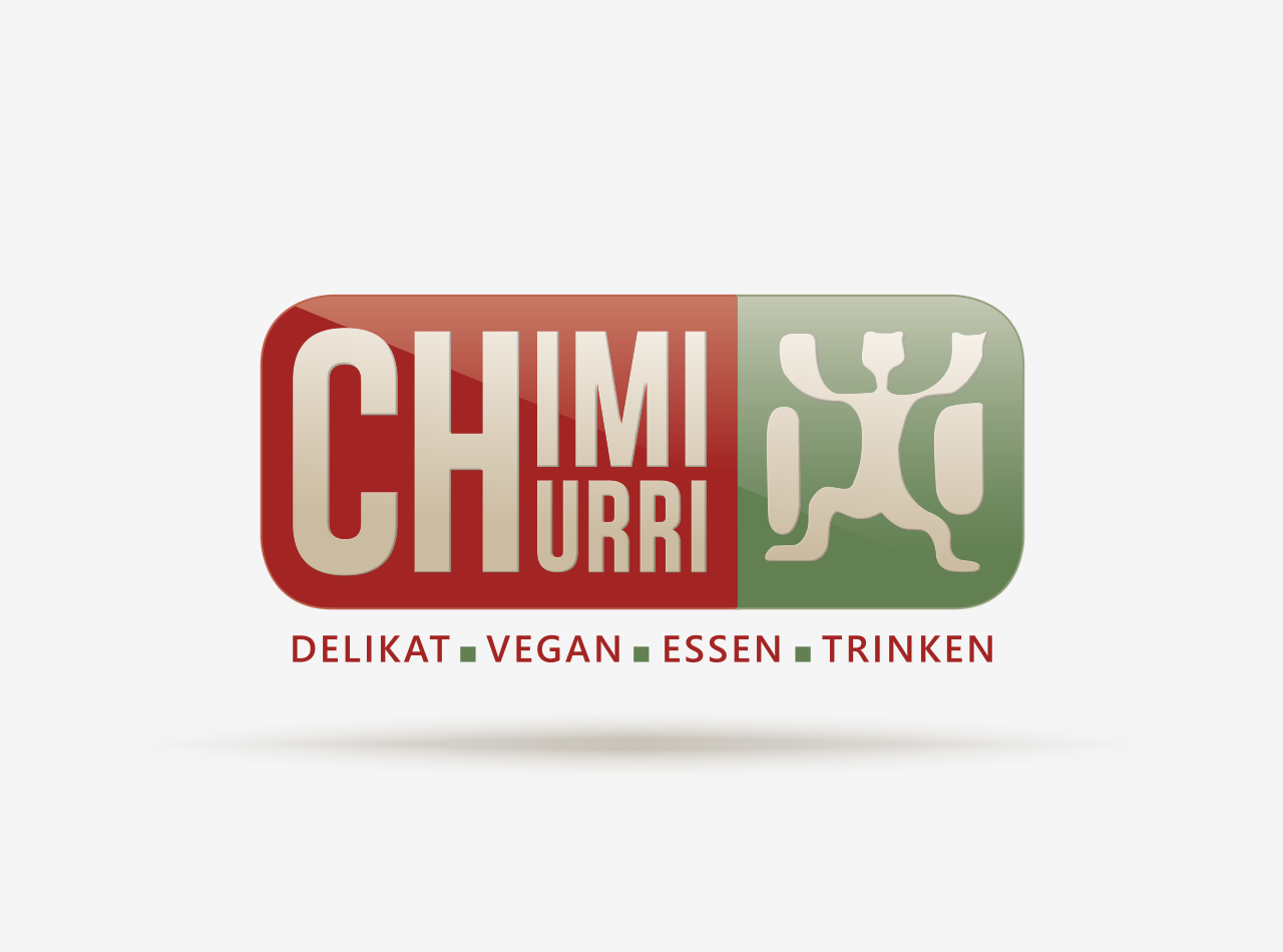 Logo-Design für das vegane Restaurant CHIMICHURRI in Frankfurt 2