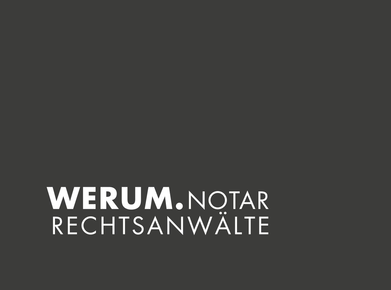 Logo Design für WERUM Rechtsanwälte