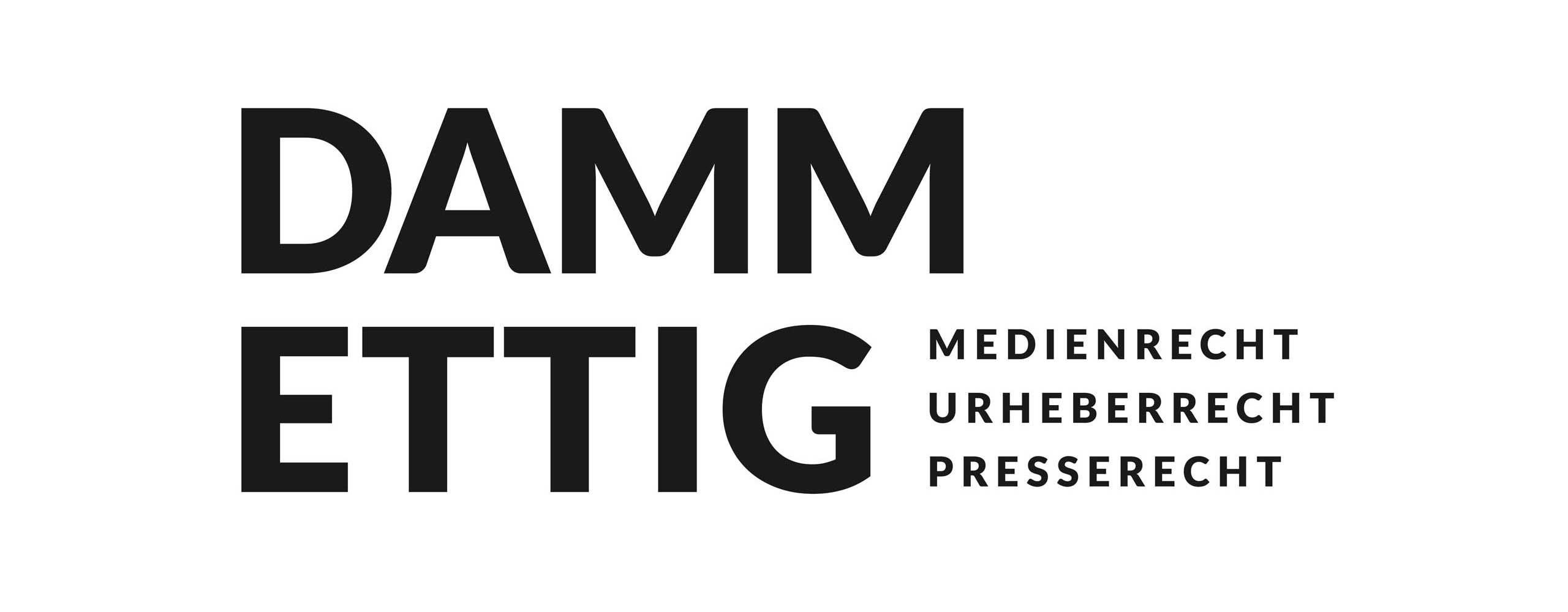 Logo-Design für DAMM ETTIG Rechtsanwälte