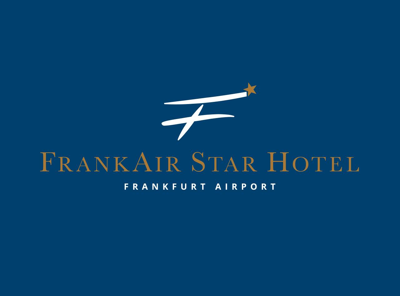 Logo-Design für das FrankAir Star Hotel