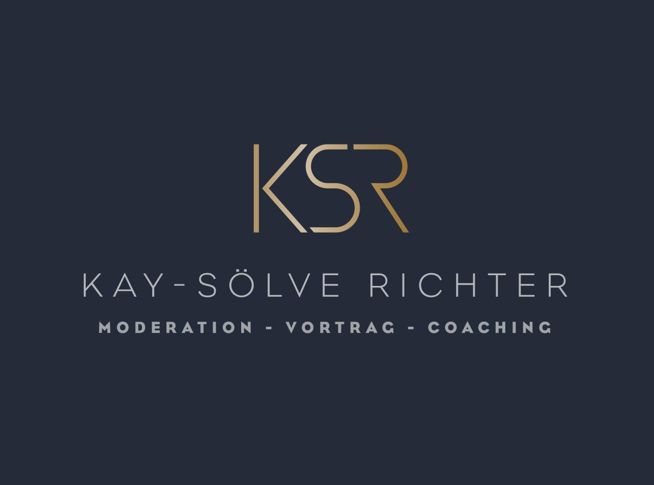 Logo-Design für die Moderatorin Kay-Sölve Richter
