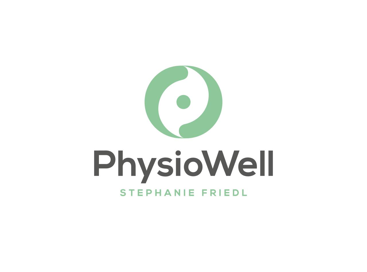 Logo-Design für PhysioWell, Physiotherapie Praxis in Dresden
