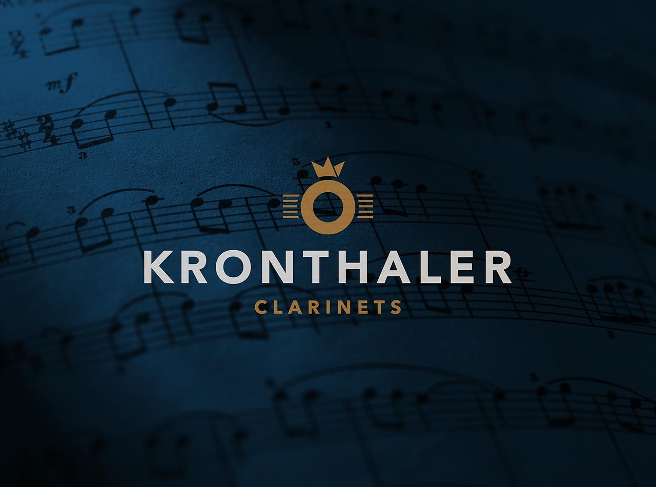 Logo Design für Kronthaler Clarinets